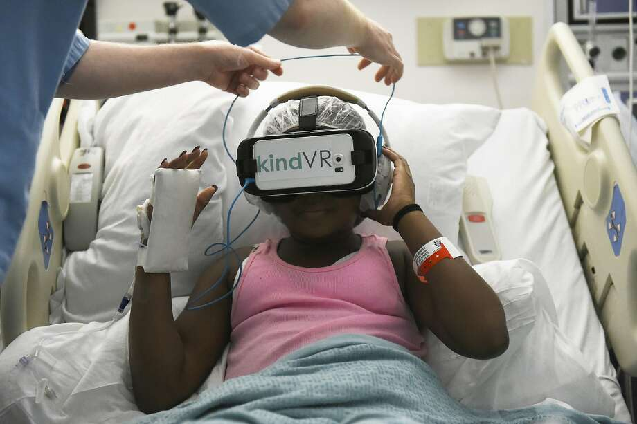Image result for Virtual Reality Helps Distract Kids from Painful Medical Procedures