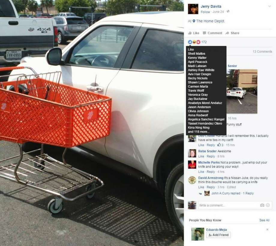 Texas Home Depot Goer Teaches Driver Of Double Parked