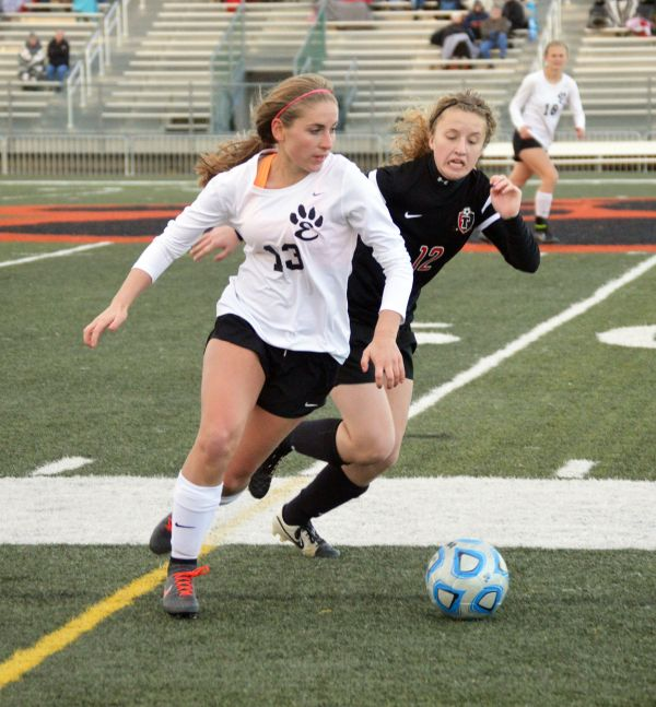 Girls' Soccer State Tournament Primary Goal Tigers - Edwardsville Intelligencer
