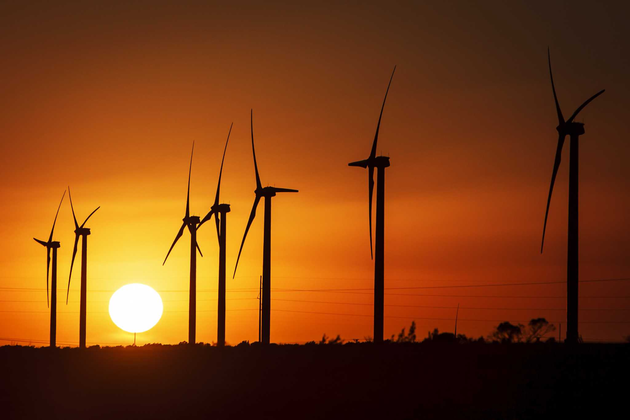West Texas Heat May Mean More Wind And More Wind Power