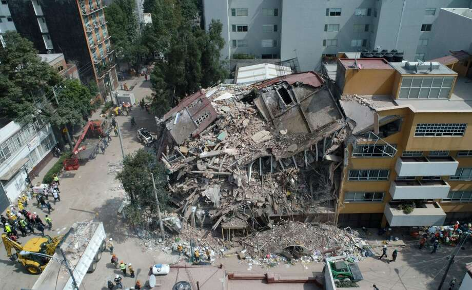Image result for images of Mexico city earthquake 7.1