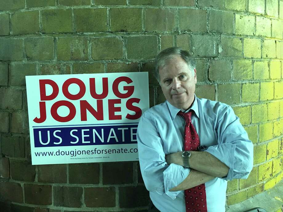 Image result for photos of doug jones and roy moore