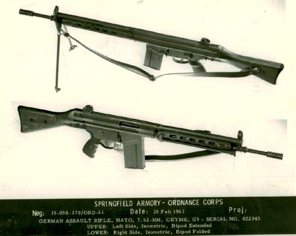 medium resolution of spanish 7 62mm light machine gun model mauser cetme