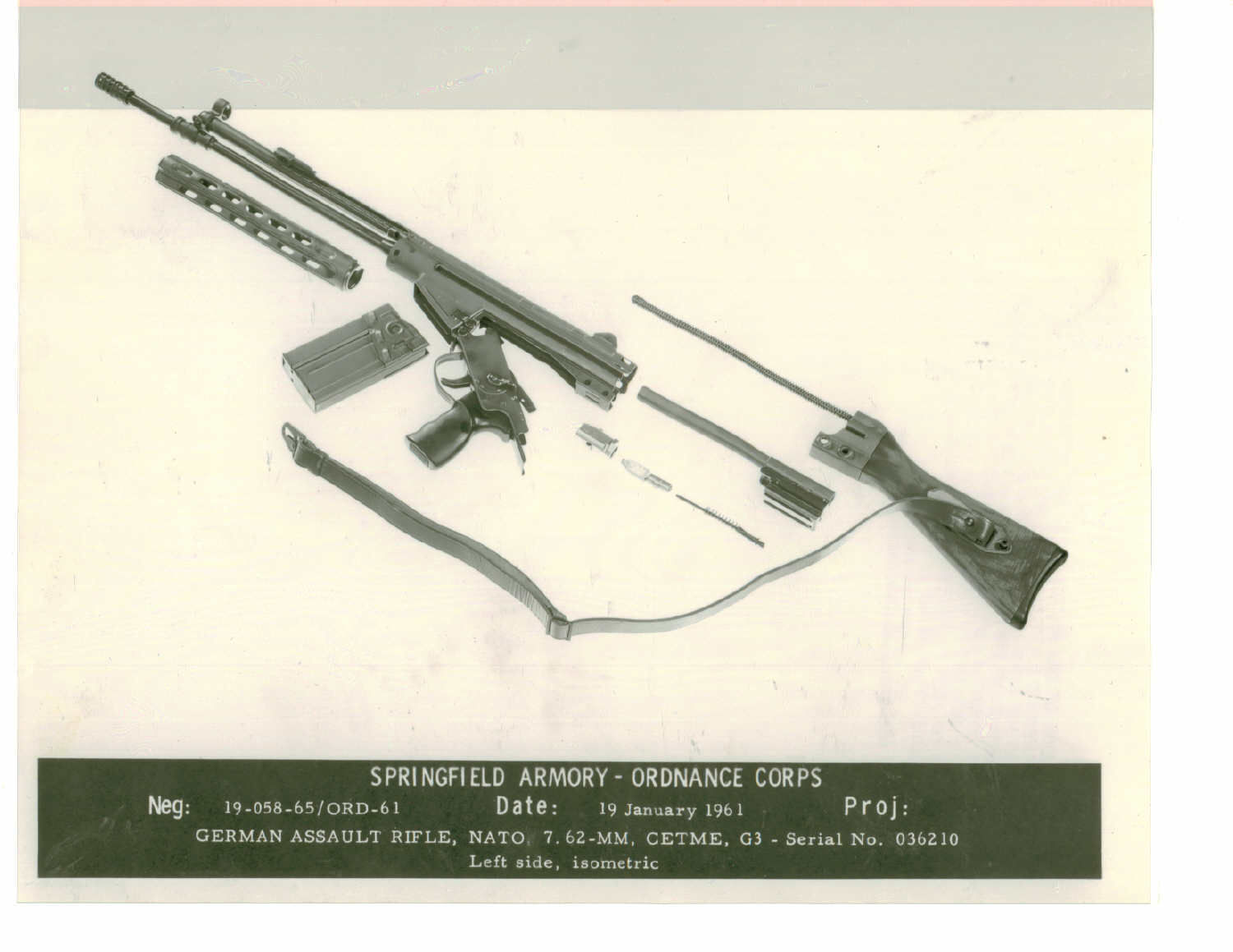 hight resolution of german assault rifle nato 7 62mm cetme g 3