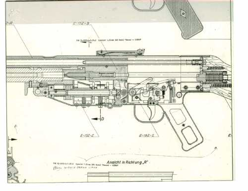 small resolution of records of the springfield armory records of the research and engineering division spanish 7 62mm light machine gun model mauser cetme