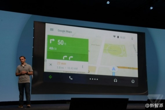 Google I/O 2014:Google 推出全新 Android Auto 車載系統 cf008ae0gw1ehrac2msy3j20go0b4jsc