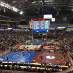 Wrestling State Championships update from Hershey