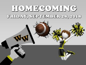 Make Plans to Attend this Year's Homecoming!