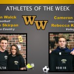 Athletes of the Week for Oct 1st and Oct 8