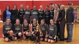 "Girls are 2018 ""Honesdale Jaycees Basketball Tournament"" Champs!"