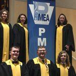 Western Wayne students participate in the 2019 PMEA District Chorus festival.