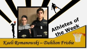 Athletes of the Week for February 4, 2019