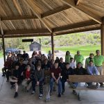 Western Wayne High School Students Explore Varden Conservation Area