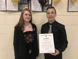 Western Wayne Middle School Holds Annual 8th Grade Moving-Up Ceremony