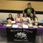 The Western Wayne Drama Club recently elected their 2019-20 officers