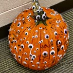 RDW students celebrate October's PBIS Blowout with pumpkin decorating