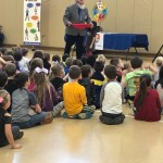 Deputy Phil program held at EverGreen Elementary
