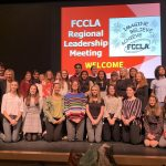Western Wayne High School learned leadership skills while attending the FCCLA Regional Leadership Meeting