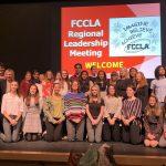 Western Wayne High School learned leadership skills while attending the FCCLA Regional Leadership Meeting
