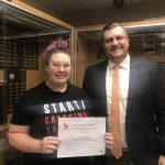Western Wayne Student Earns Certificate for Computer Science Work