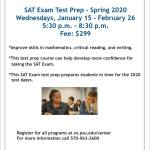 SAT Prep Course at PSU-Scranton