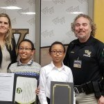 Students Earn Western Wayne School Police Exemplary Citizenship Awards