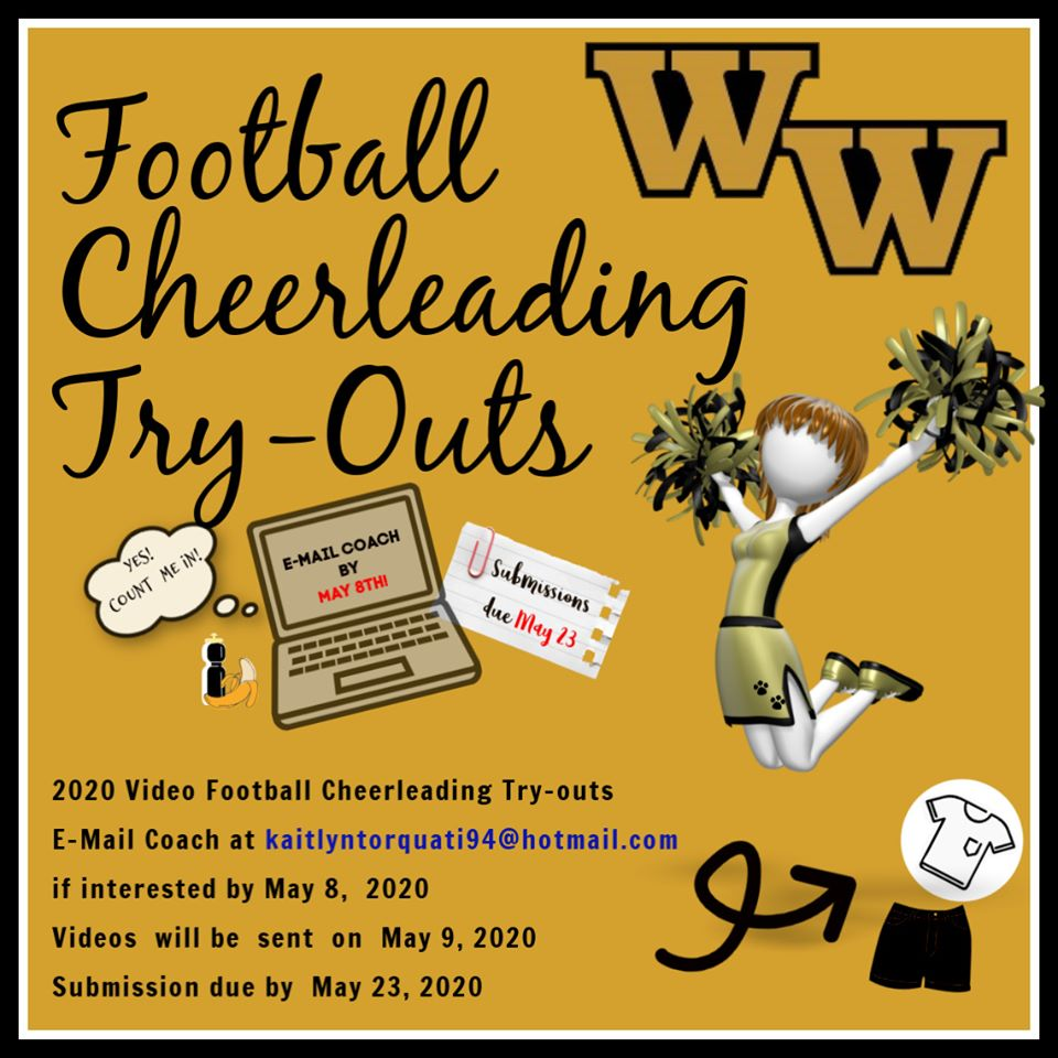 attention high schoolers, who wants to cheer for the wildcats this fall?