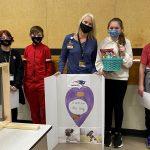Student Council Shows School Nurse Appreciation