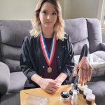 Junior Takes Honors in District and State Cosmetology Competitions