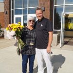 Middle School Honors Retirees on Last Day