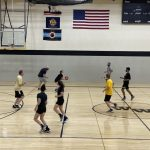 Middle School Hosts Annual Student vs. Faculty Basketball Game