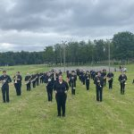 Western Wayne Marches in Flag Day Parade