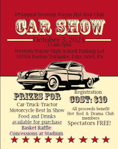 Hot Rod Club Hosting 6th Annual Car Show