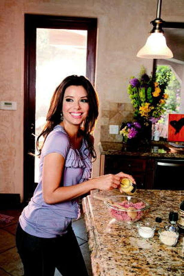 Cooking with Eva Longoria  Houston Chronicle