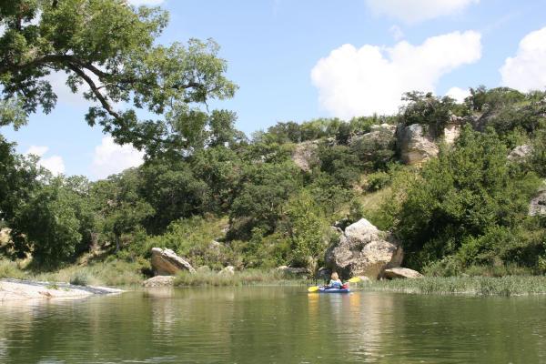 San Saba River one of Texas bestkept secrets  Houston