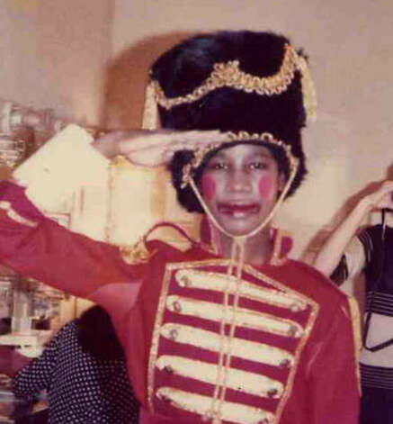 THAT WAS THEN: At the age of 10, Anderson was the Nutcracker's lead soldier in 1978. Photo: LAUREN ANDERSON / HC