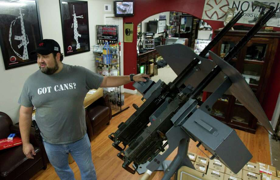 About 28690 machine guns are registered in Texas  San