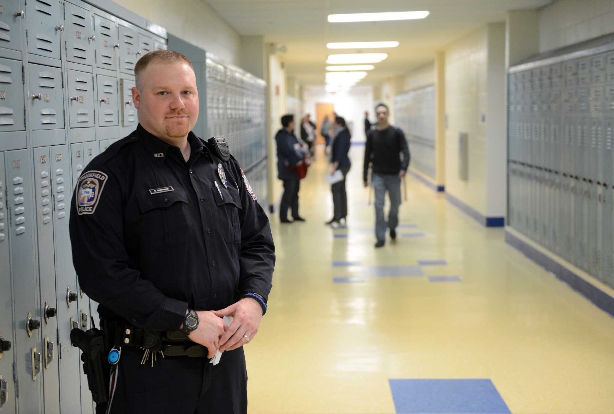 School security cost caught in budget dispute  NewsTimes