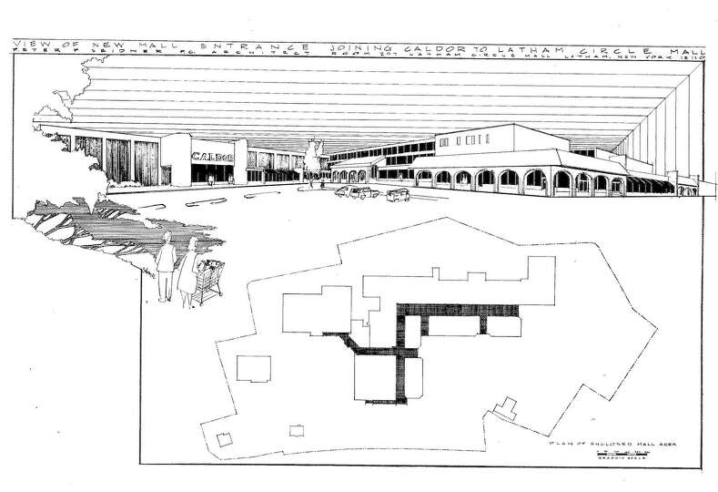 Plans for alterations and additions to Latham Circle Mall