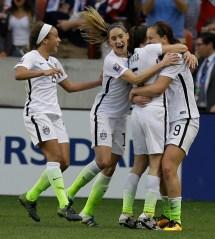 Lindsey Horan USA Women's Soccer Olympics 2016