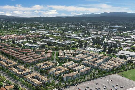 Rendering of Landsea townhouse development in Sunnyvale