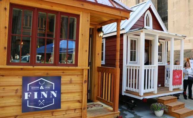 Tiny Houses Stop In Lake Conroe Area Houston Chronicle