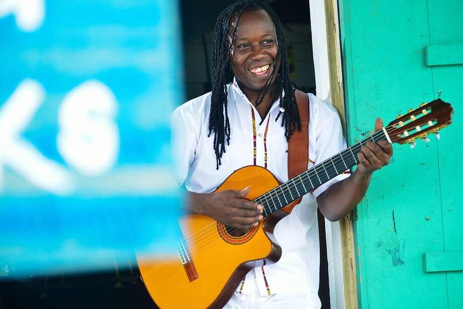 Garifuna musician and cultural ambassador Aurelio performs in will perform in SF Sonido Fest. Photo: Courtesy Richard Holder