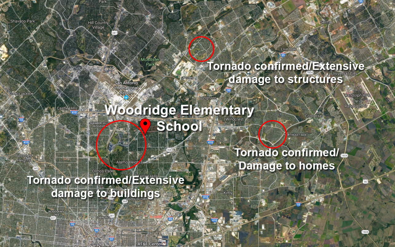 Classes Cancelled At Alamo Heights Elementary School For