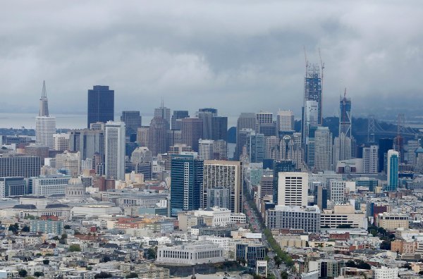 Future Towers Imposingly Over Sf - San Francisco Chronicle