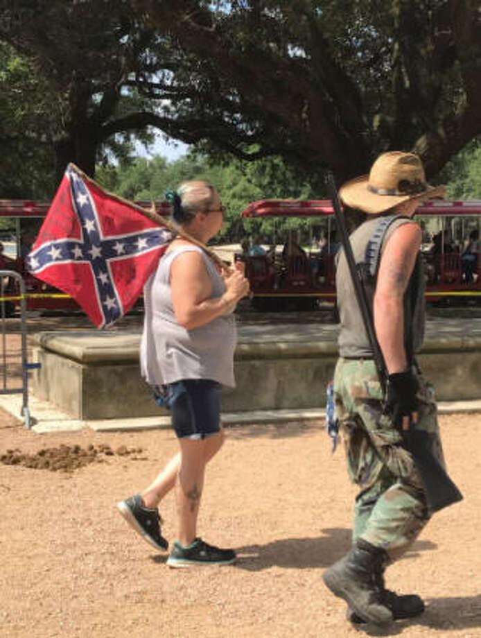 Image result for Sam Houston protest