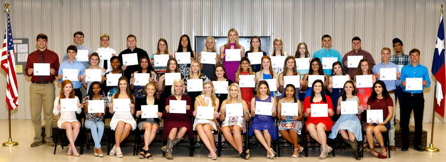 The Fort Bend County Fair Association recently presented its 2017 scholarships to students. Photo: Fort Bend County Fair Association
