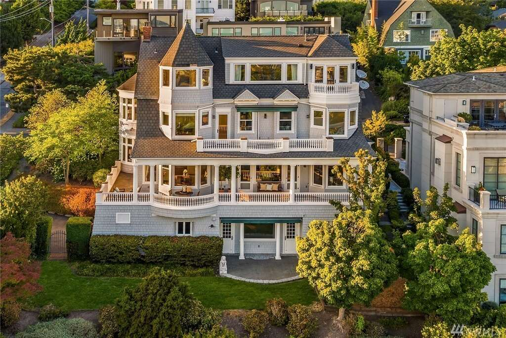 153 Highland Dr., listed for $7,800,000. See the full listing here. Photo: Andrew O'Neil/Clarity Northwest Photography