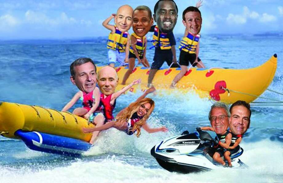 Moguls On A Boat 2017 Where Jeff Bezos Lachlan Murdoch Obamas Zuck Vacay Tioned SFGate