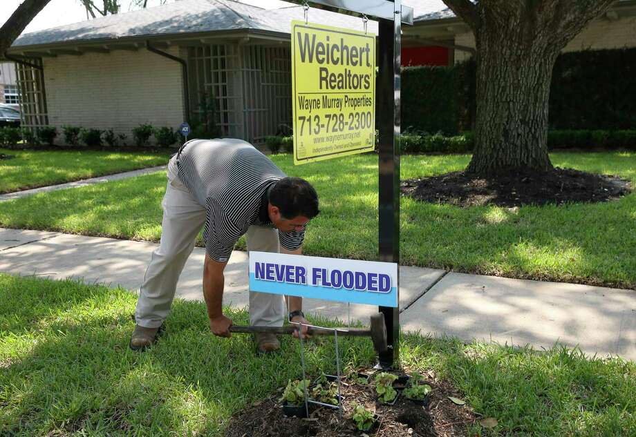 Image result for +never flooded for sale +sign houston